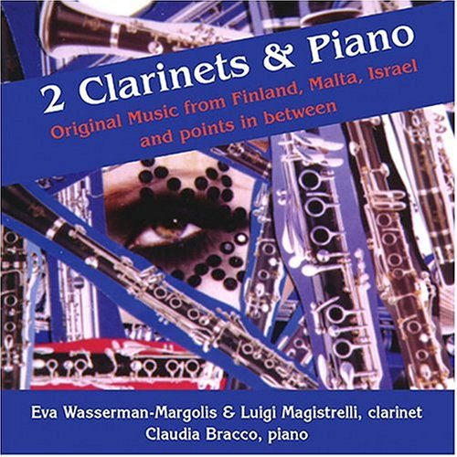 2 Clarinets & Piano: Original Music from Finland, Malta, Israel and points in between (US Import)