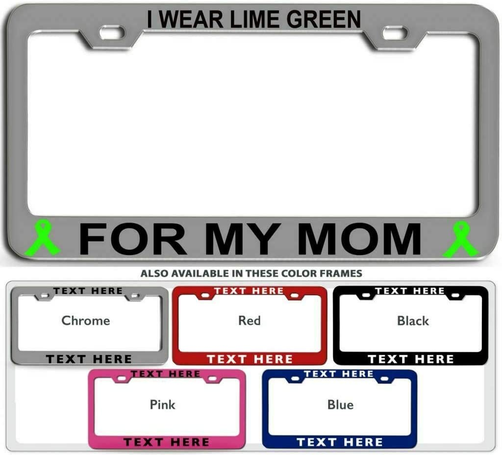 Super Special SALE held Sales of SALE items from new works I WEAR Lime Green for My Cancer Plat MOM Steel License Awareness