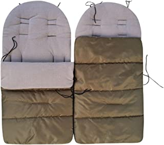: ca Baby Swaddle Blanket Stroller Wrap 135//110 cm l//w : ca./120//50 cm Opened l//w Fleece-Winter Footmuff Sleeping Bags Choice of Color Closed
