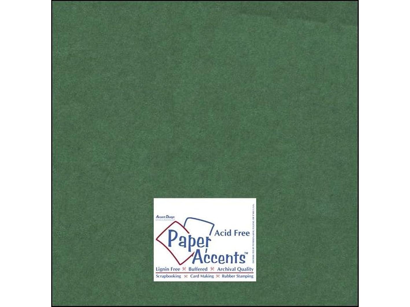 Accent Design Paper Accents Cdstk Muslin 12x12 74# Grass Green sdljtmxrdtp188