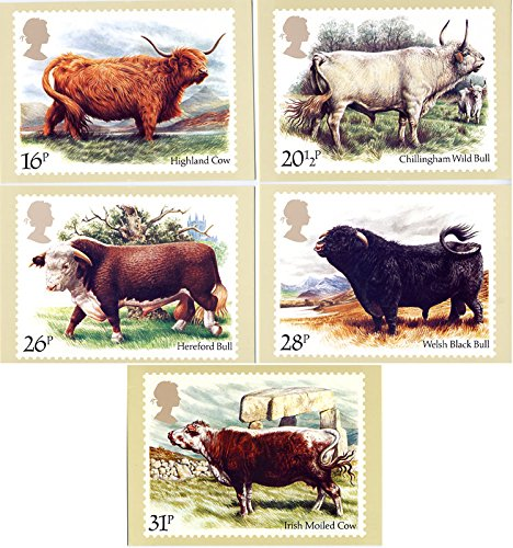 Cattle PHQ 73 FULL SET MINT