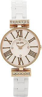 [フォリフォリ] 時計 FOLLI FOLLIE WF15B028BSZ XX MINI DYNASTY WINTER DREAM レディース腕時計 ホワイト/ローズゴールド [並行輸入品]