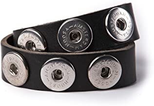 ohne Chunks NOOSA PURE Armband doppelt SKINNY weiss