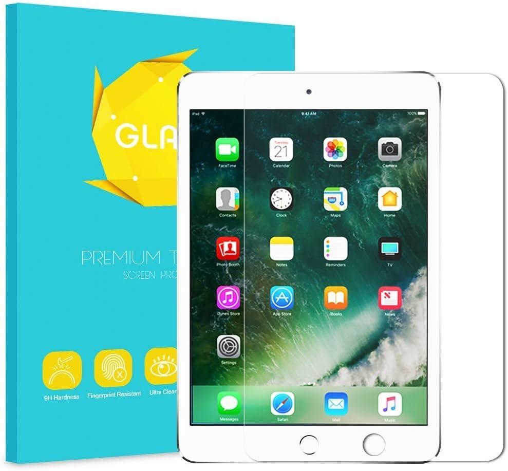 Fintie Tempered Glass Screen Protector for iPad 9.7 2018 2017 / iPad Air 2 / iPad Air/iPad Pro 9.7 Inch, Anti Scratch Premium HD Clear 9H Hardness for iPad 2018 2017 / Air 1 2, iPad Pro 9.7