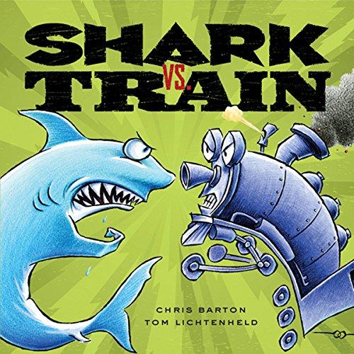 Shark vs. Train audiobook cover art