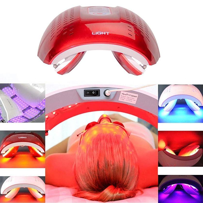 リラックスブルームシティLED光子の顔の若返りの美の器械、4色PDTの分光計、肌の引き締め美白の強化,Red