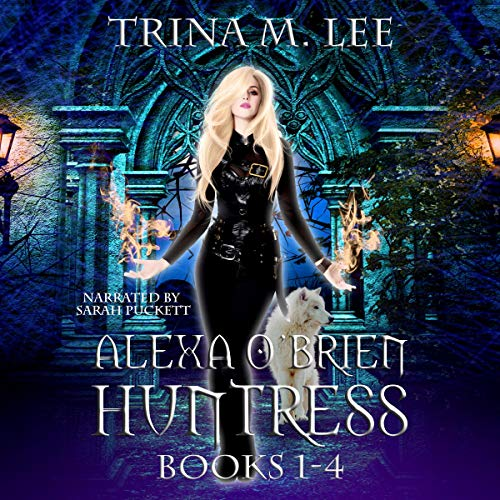 Alexa O'Brien Huntress Series Books 1-4 Box Set audiobook cover art