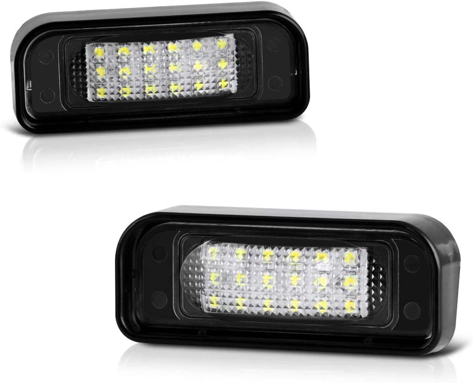 VIPMOTOZ Full LED Max 56% OFF License Plate Light Ranking TOP4 Replacement Lamp Assembly