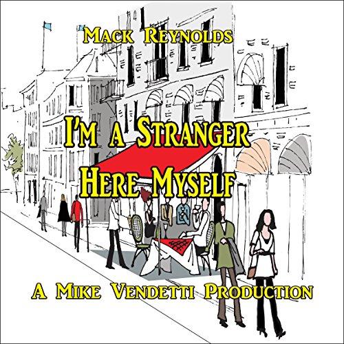 『I'm a Stranger Here Myself』のカバーアート