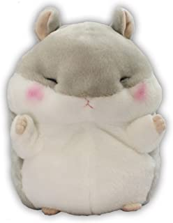 Amuse Coroham Coron Series Plush Hamster Puppet Doll Gray 'Jan-kun' size (9