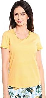 Rösch Be Happy! 1212031-16577 Women's Mini Dots Cotton Pyjama Top