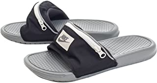 check out f13e7 2267d Nike Benassi JDI Fanny Pack - Black Cool Grey-Summit White - AO1037-
