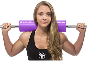 Iron Bull Strength Advanced Squat Pad - Barbell Pad for Squats, Lunges & Hip Thrusts - Neck & Shoulder Protective Pad...