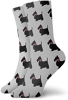 Jhonangel, Niños Niñas Loco Divertido Scottie Dog Calcetines con estampados divertidos Lindos calcetines de vestir de novedad