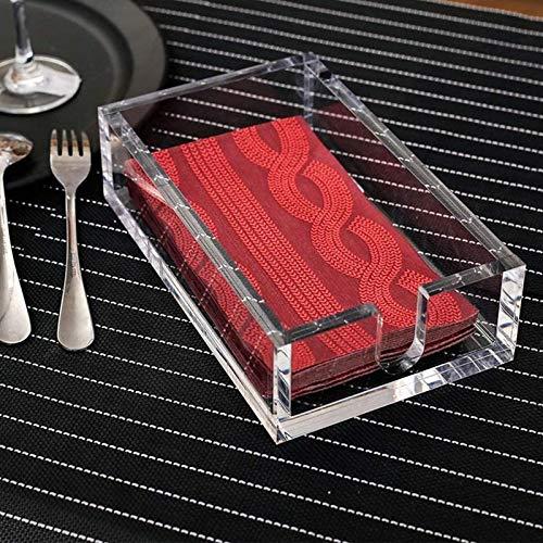 YELLAYBY Rack de Pared Toallero servilleta de acrílico, Toallas de Papel higiénico for Quitar el Disco de Almacenamiento de la Cocina o Comedor (Color : 21.8cm)