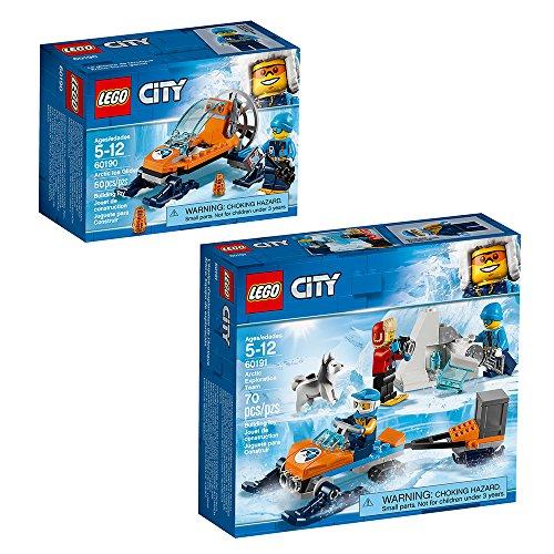 LEGO City Arctic City Arctic Expedition Building Kit, Multicolor (120 Pieces)