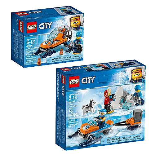 LEGO City Arctic City Arctic Expedition Building Kit, Multicolor (120 Pieces)