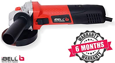 iBELL Angle Grinder IBL AG10-92, 850W, 100MM Heavy Duty,11000 RPM with 6 Months Warranty