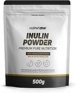 Inulina en Polvo de HSN Raw | Fibra Prebiótica | Limpieza