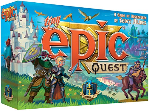 Tiny Epic Quest Fantasy Board Game: A Small Box Adventure