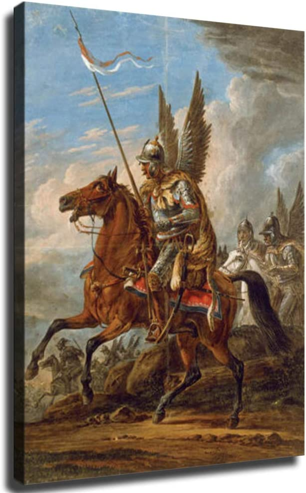 FINDEMO Winged Hussars Kingdom of Paintin Regular discount Cavalry Poland Recommended Posters