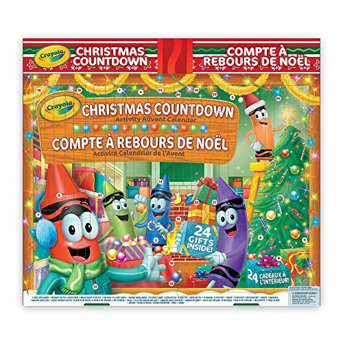 Crayola Christmas Countdown Activity Advent Calendar, Gift for Boys and Girls, Kids, Ages 3,4, 5, 6 and Up, Holiday Toys,...