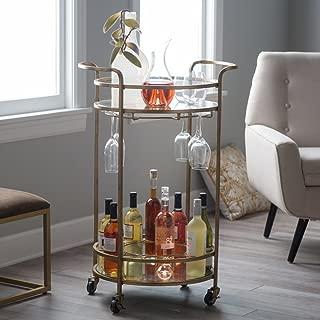 Belham Living Olivia Round Bar Cart