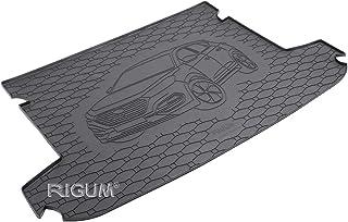RIGUM Passgenaue Kofferraumwanne geeignet für Hyundai Tucson ab 2015 + Autoschoner MONTEUR