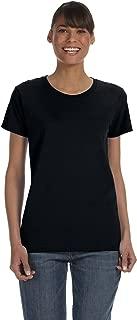 Gildan 5000L - Missy Fit Ladies T-Shirt Heavy Cotton - First Quality - Black - Medium