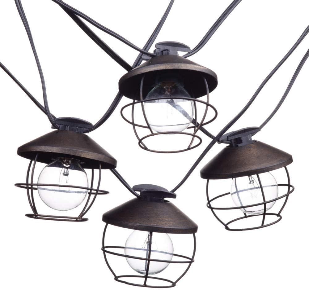 Globe Austin Mall Electric 12949 Chicago 25% OFF Black String Lights