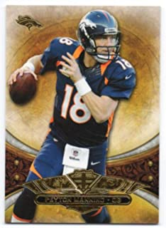 2013 Topps Triple Threads #98 Peyton Manning Broncos NFL Football Card NM-MT