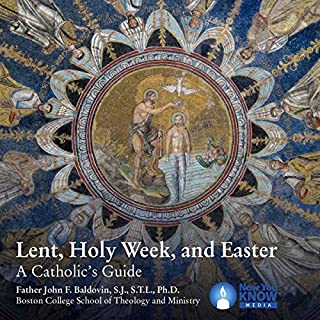 Lent, Holy Week, Easter: A Catholic's Guide                   By:                                                                                                                                 Fr. John Francis Baldovin SJ STL PhD                               Narrated by:                                                                                                                                 Fr. John Francis Baldovin SJ STL PhD                      Length: 5 hrs and 2 mins     3 ratings     Overall 5.0