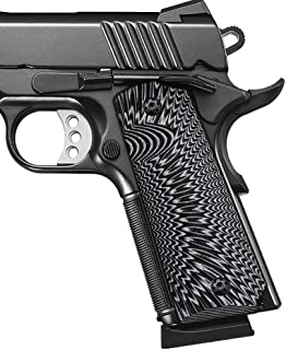 Cool Hand 1911 G10 Grips, Full Size (Government/Commander), Sunburst Texture, Ambi Safety Cut