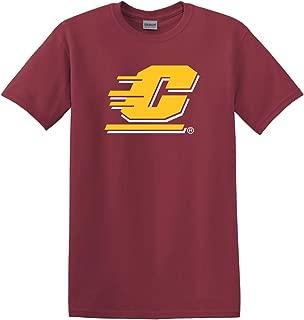 CreateMyTee Central Michigan University Maroon C Adult T-Shirt