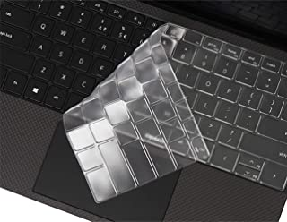 Leze - Ultra Thin Keyboard Cover Compatible with Dell XPS 15 9500, XPS 17 9700 Touch-Screen Laptop - TPU