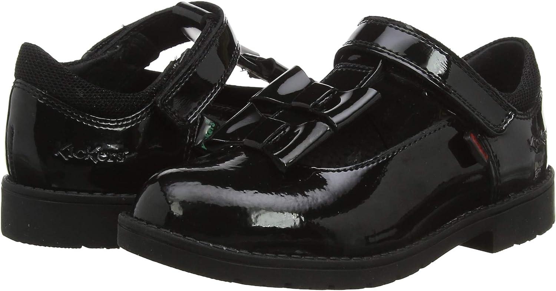 Kickers M/ädchen Lachly Bow Strap Sneaker