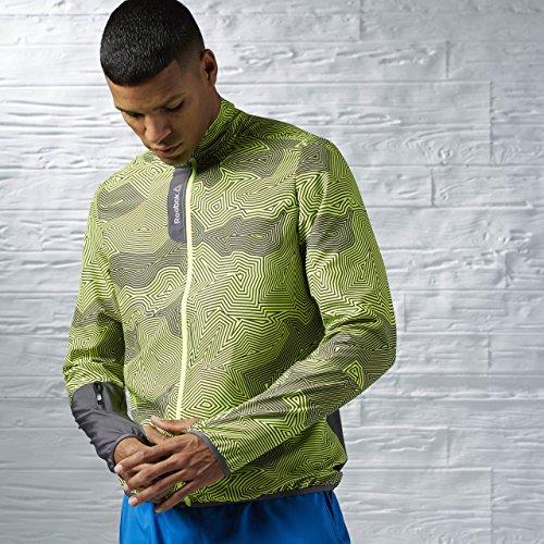 Reebok Herren Jacke Running Essentials Woven Jacket, Grau (Ash grey), XXL, AJ0323