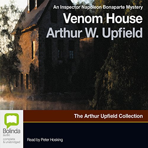 Venom House audiobook cover art