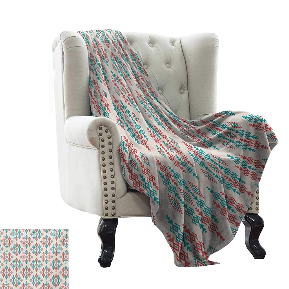 RenteriaDecor Native American,Bed Sheet Ancient Ethnic Traditional Local Aztec Tribal Design Elements 90