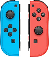 $44 » JoyCon Controller for Nintendo Switch with Wrist Straps,Switch Joy Con Controller Replacement Support Wake-up Function (Re...