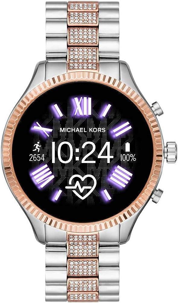 Michael kors smartwatch gen5 con wear os by lexington connected google e altoparlante gps frequenza cardiaca MKT5081
