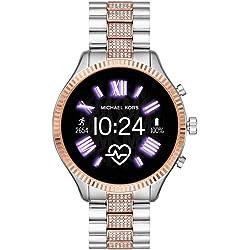 Michael Kors Smartwatch para Mujer plata y oro,