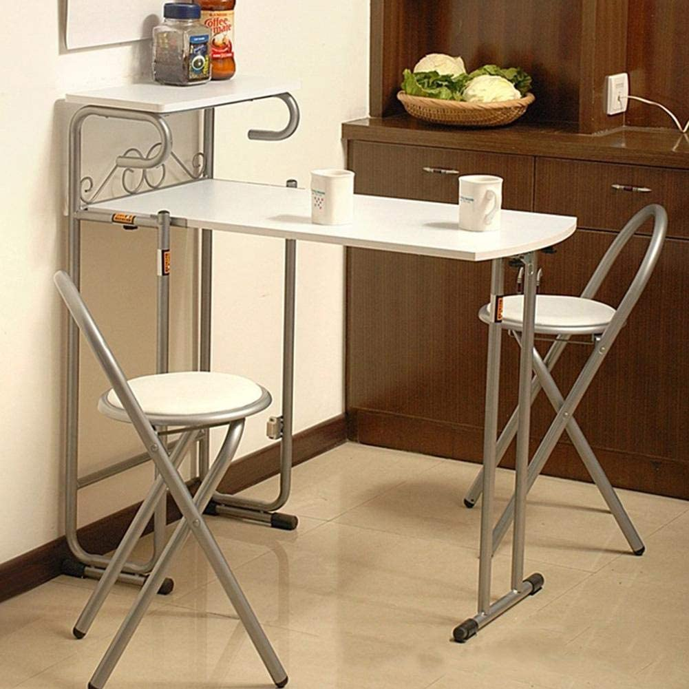 3-Piece Folding Table Finally resale start and Chair Couple Ranking TOP14 Ta Set Fashion 1