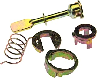 Car Front Left & Right Side Door Lock Cylinder Repair Kit Set Compatible with VW POLO 2/3 DOOR / 6N 1997-2001 OEM 6N0837223A