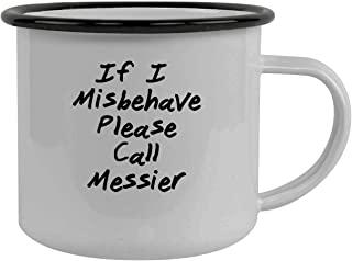 If I Misbehave Please Call Messier - Stainless Steel 12Oz Camping Mug, Black