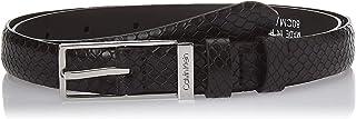 Calvin Klein Women's WINGED 2.0 SN Belt, Black, 80 cm