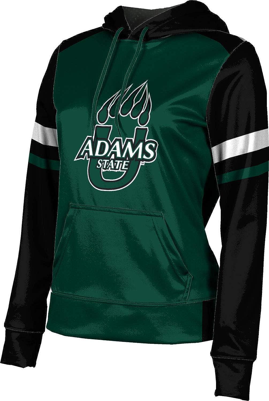 Adams State University Girls' Pullover Hoodie, School Spirit Sweatshirt (Old School)