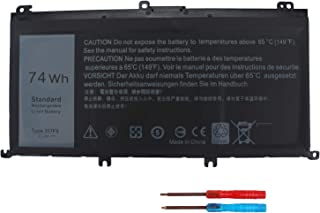 New 357F9 Laptop Battery Compatible with Dell Inspiron 15 7000 Series 7559 7557 5576 5577 7566 7567 7759 INS15PD-1548B 1548R 1748B 1848B 2548B 2748B 3948B Gaming Series 11.1V 74WH