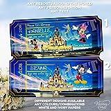 Walt Disney World Florida Orlando Disneyland Paris Land Mickey Mouse - Cartera para tarjetas de felicitación, diseño con texto en inglés 'Going to Son Daughter Holiday Girl Boy'