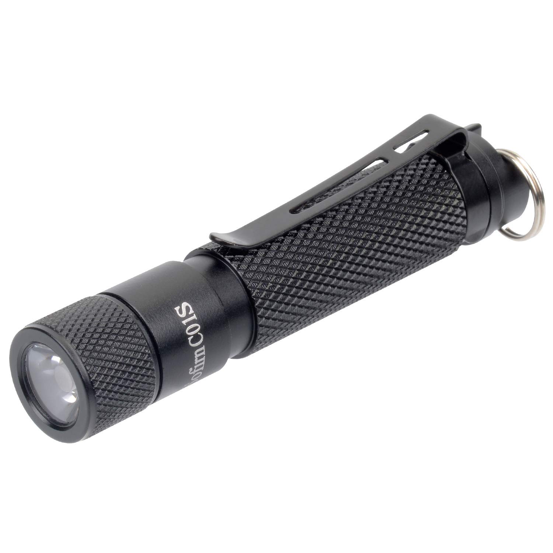 LED Aluminium Mini Torch Flashlight Small//Without Battery